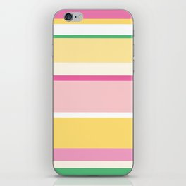 Manly Stripe iPhone Skin