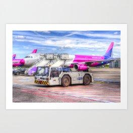 Wizz Air Airbus A321 Art Print