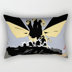 Ghidorah, the Three-Headed Monster Rectangular Pillow