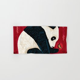 The Panda and the Butterfly Hand & Bath Towel
