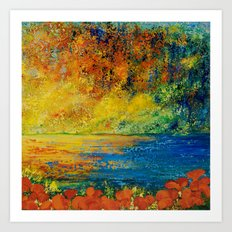 MEMORIES OF SUMMER Art Print