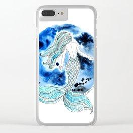 Sirena Luna Clear iPhone Case