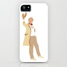 Fifth Doctor: Peter Davison iPhone Case