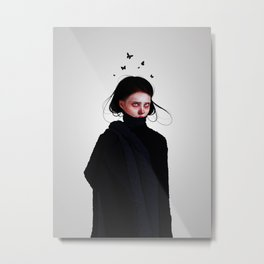 Cold Thoughts Metal Print