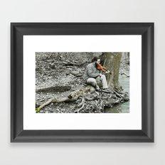 Fiddler on the Creek Framed Art Print