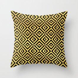 Amsterdam Art Deco/Art Nouveau Pattern Throw Pillow