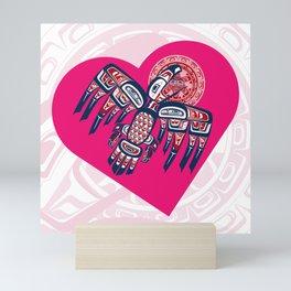 Heart - Raven Steals The Sun Mini Art Print