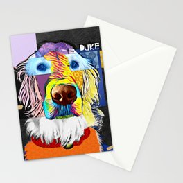 English Golden Retriever Stationery Cards