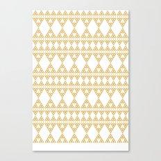 Golden Lace Canvas Print