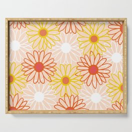 flower child Serving Tray