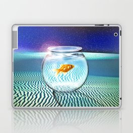 The Tourist Laptop & iPad Skin