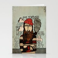 men Stationery Cards featuring SOME MEN ARE SAILORS by Matthew Taylor Wilson