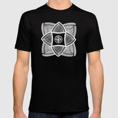 Mimbres Series - 11 Black MEDIUM Mens Fitted Tee