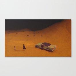 """""""Scenes of losses"""" Scene 02 Canvas Print"""