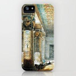 Tempel Dendera iPhone Case