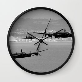 Lancasters Together Again Wall Clock