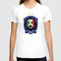 pirlo T-shirts featuring Pirlo by Rudi Gundersen