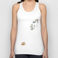 how to train your dragon Tank Tops featuring How to train your Dragon by Lia Oh