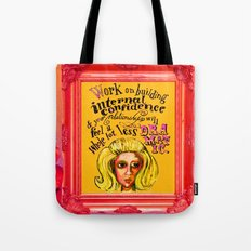 Relationship: Pink & Orange  Tote Bag