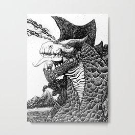 Gorgodonus Metal Print