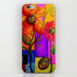 FANTASY FLOWERS iPhone Skin