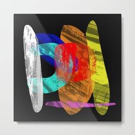 Pastel Pieces - Abstract, pastel artwork Metal Print
