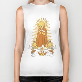 Holy Peach Day of the Dead Tribute Biker Tank
