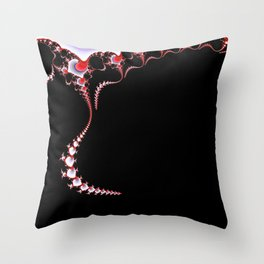 Spinal Tap 1 Red Throw Pillow