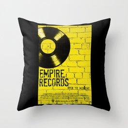 Empire Records Throw Pillow