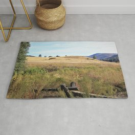 California Meadow by Reay of Light Rug