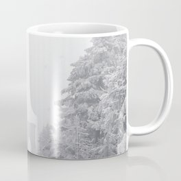New York City and Brooklyn Bridge Winter/Christmas Coffee Mug