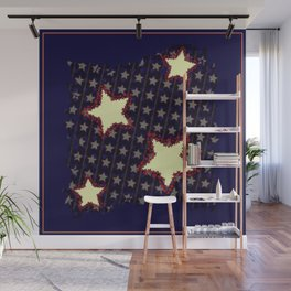 Stars & Stripes Wall Mural