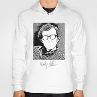 woody allen Hoodies featuring Woody Allen by totemxtotem