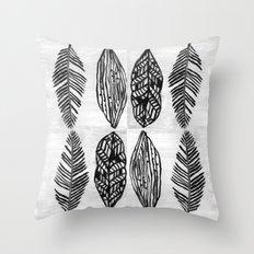 Feather Trio Throw Pillow