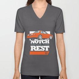 Notch Above the Rest Unisex V-Neck