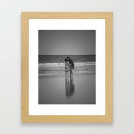 Happier Than Most Framed Art Print