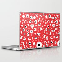 monsters Laptop & iPad Skins featuring Monsters by Vickn
