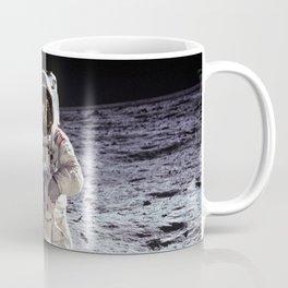 Buzz Aldrin on the Moon Coffee Mug