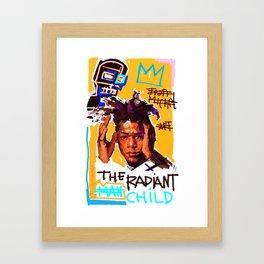The Radiant Child Framed Art Print