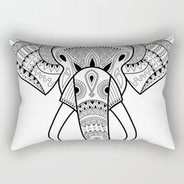 Serious Elephant Rectangular Pillow