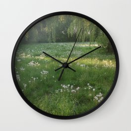 Lawn Wishes Wall Clock