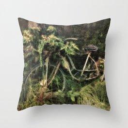 Under the Oak Tree Throw Pillow