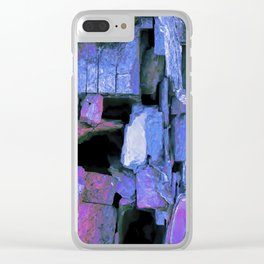 Contemporary Vacuities Clear iPhone Case