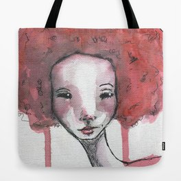 Ariel on Canvas Tote Bag