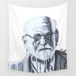 Melting Freud Wall Tapestry