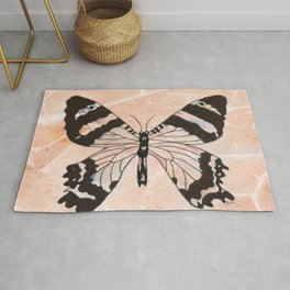 Ethereal Butterfly Rug
