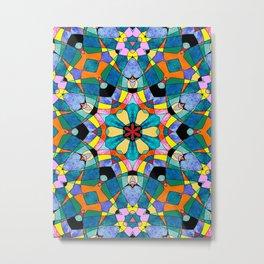 fractal V Metal Print