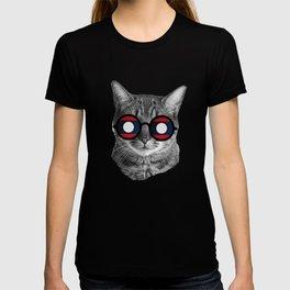 Funny Cat T Shirt - Laos T-shirt