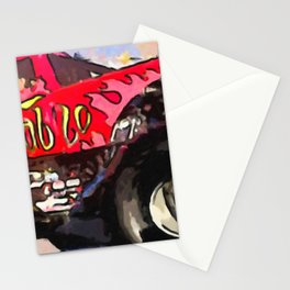 Monster Truck El Diablo Stationery Cards