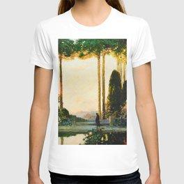 The Enchanted Garden by Thomas Mostyn T-shirt